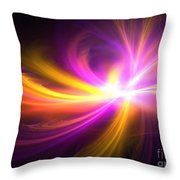 Quasi-stellar Throw Pillow
