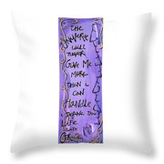 Quatrain Grace Throw Pillow