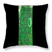 Quatrain Whole Throw Pillow
