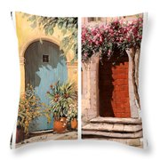 Quattro Porte Throw Pillow