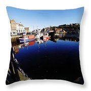 Quay Side 1 Throw Pillow