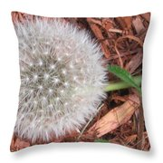 Que La Nature Est Belle... Throw Pillow