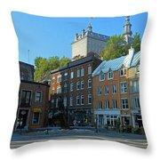 Quebec City 46 Throw Pillow