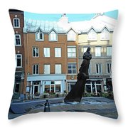 Quebec City 48 Throw Pillow