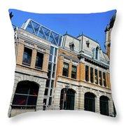 Quebec City 50 Throw Pillow