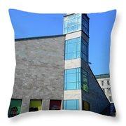 Quebec City 52 Throw Pillow