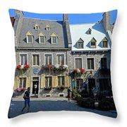 Quebec City 54 Throw Pillow