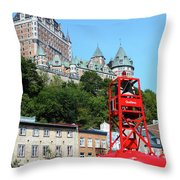 Quebec City 57 Throw Pillow
