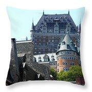 Quebec City 60 Throw Pillow