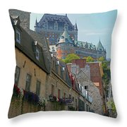 Quebec City 62 Throw Pillow