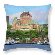 Quebec City  6326 B  Throw Pillow