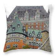 Quebec City 65 Throw Pillow