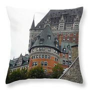 Quebec City 66 Throw Pillow