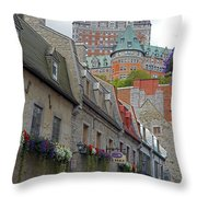 Quebec City 67 Throw Pillow