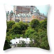 Quebec City 68 Throw Pillow