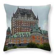 Quebec City 70 Throw Pillow