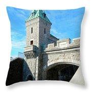 Quebec City 72 Throw Pillow