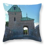 Quebec City 73 Throw Pillow