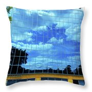Quebec City 83 Throw Pillow