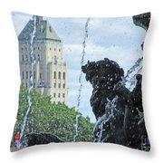 Quebec City Detail 40 Throw Pillow