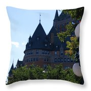 Quebec City Throw Pillow