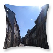 Quebeccity 2 Throw Pillow