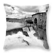 Quechee's Thaw Throw Pillow