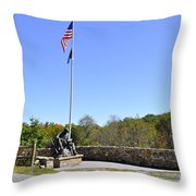 Quecreek Mine Rescue Memorial Throw Pillow