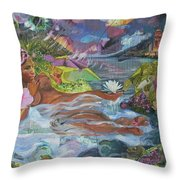 Queen City Dreaming Throw Pillow