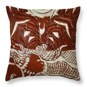 Queen Esther - Tile  Throw Pillow