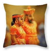 Queen  King Throw Pillow