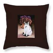 Queen Marishka Throw Pillow