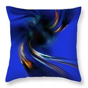 Queen Maub's Emergence From The Nevernever Throw Pillow