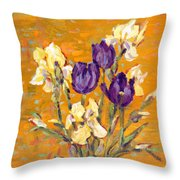 Queen Of Night And King Of Sun Throw Pillow