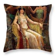 Queen Of Sheba Throw Pillow