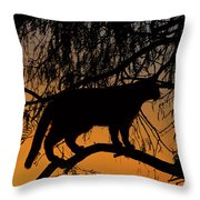 Queen Of The Tree Throw Pillow