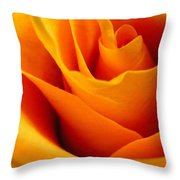 Queen Rose Throw Pillow