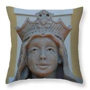 Queen Sandy Throw Pillow