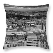 Queen Street To The Forth Throw Pillow