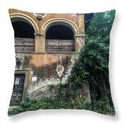 Queen Via Appia Throw Pillow