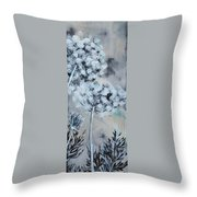 Queen's Lace 2 Throw Pillow