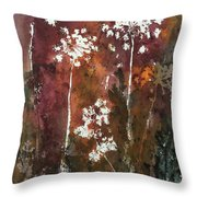 Queens Lace 3 Throw Pillow