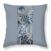 Queen's Lace 1 Throw Pillow by Holly Donohoe