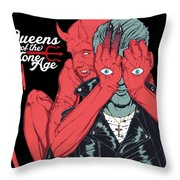 Queens Of The Stone Age Throw Pillow