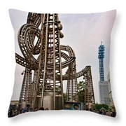 Queen's Square Throw Pillow
