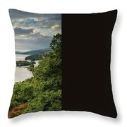 Queen's View Throw Pillow