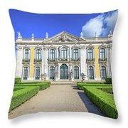 Queluz National Palace Throw Pillow