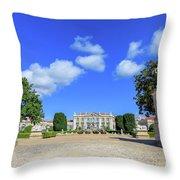 Queluz Palace Sintra Throw Pillow
