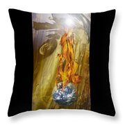 Quenching Fire Throw Pillow