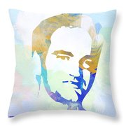 Quentin Tarantino Throw Pillow by Naxart Studio
